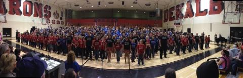 DeKalb Central Choir Concert 2013