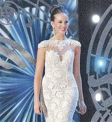 Terrin's evening gown
