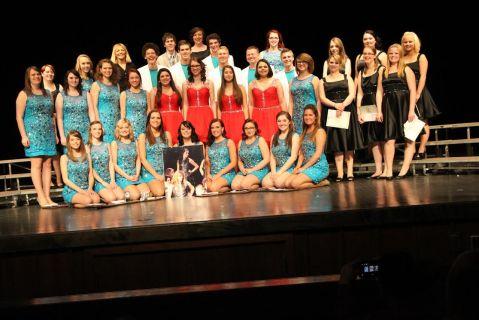 Choir seniors 2014